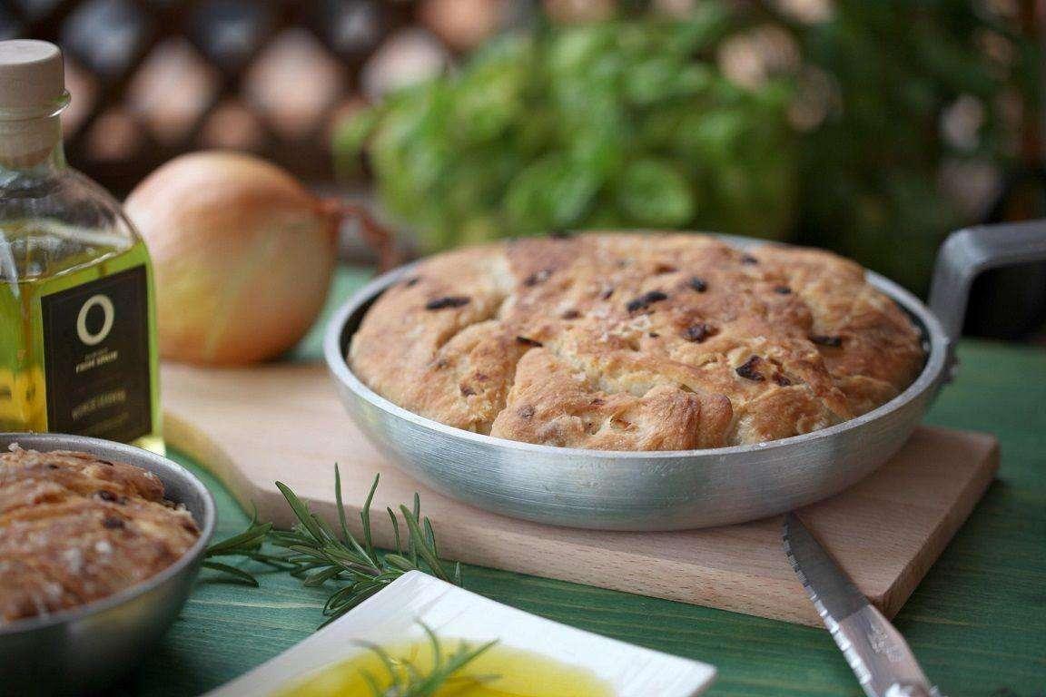 Receta de Pan con aceite de oliva
