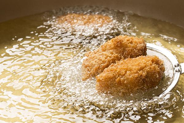 Croquettes frites à l'huile d'olive