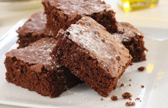 Brownies suprêmes à l'huile d'olive extra vierge
