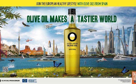 Campagne de promotion Olive Oil Makes a tastier World aux États-Unis