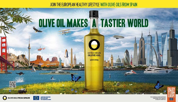 Campagne de promotion Olive Oil Makes a tastier World aux États-Unis