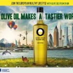 Campagne de promotion Olive Oil Makes a tastier World en Europe