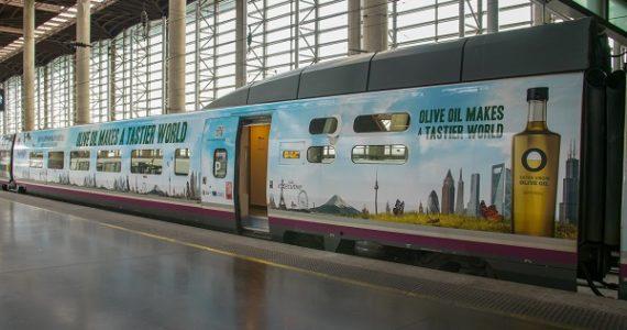Présentation de l'AVE (le TGV espagnol) des Huiles d'Olive