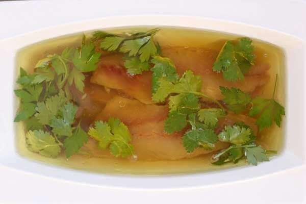 recette de maquereau marine avec pulpe de fenouil a lhuile dolive